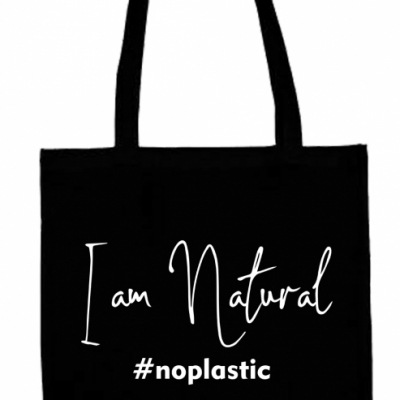 Eko taška: I am natural, no plastic