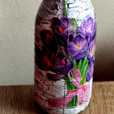Kvietkovaná váza