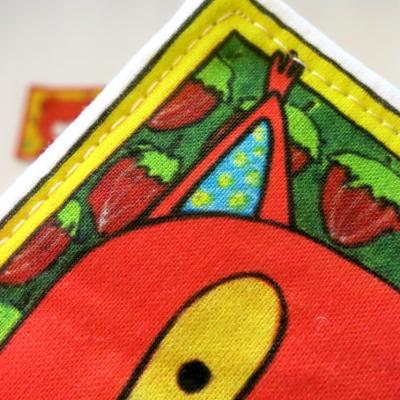 Textilné pexeso - sada Zvieratká z lesnej tône