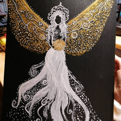 Anjel zlatý