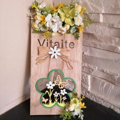 Jarná kvetinova tabuľa 30cm