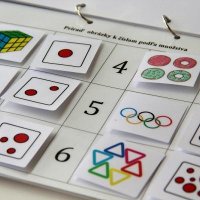 Hra - farby, tvary a čísla