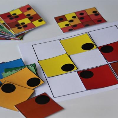 Hra - priestorová orientácia, farebné rozlišovanie  /PDF verzia