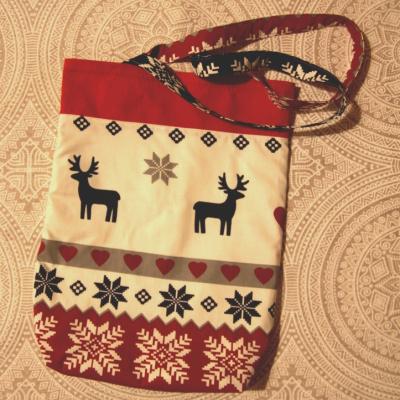 Menšia vianočná taška