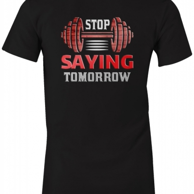 Šport: Stop saying tomorow