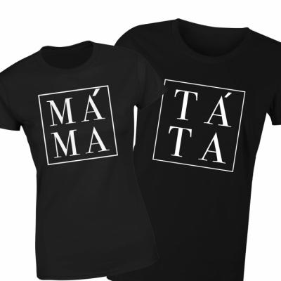 Tričko pre rodičov: Mama & Tato