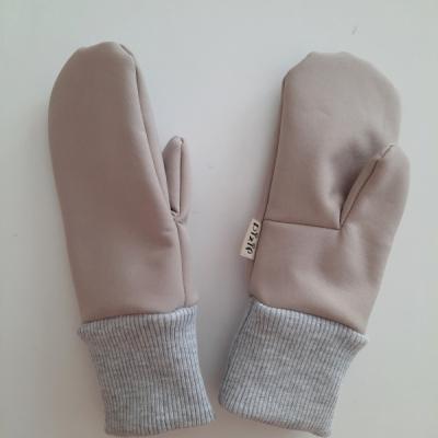 Softschellové rukavice 2-3roky 4-5 rokov