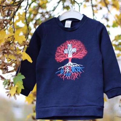 Detská mikinka-strom života