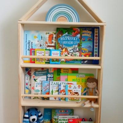 Montessori domčeková knižnica
