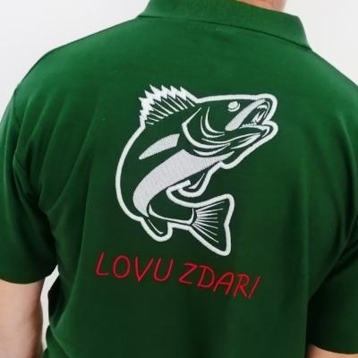 Vyšívané tričko LOVU ZDAR