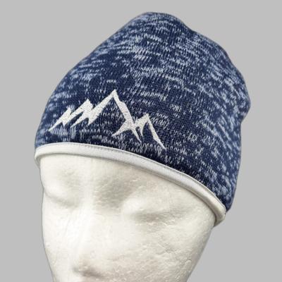 Čiapka Modrá s Motívom Hôr