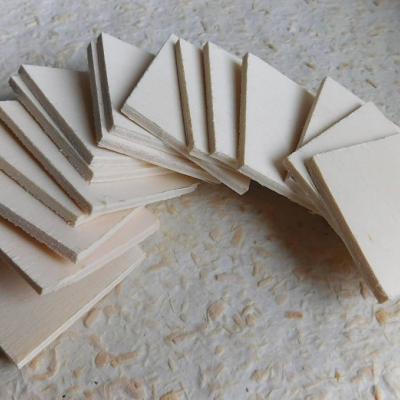 drevené karty na dotvorenie / 16ks