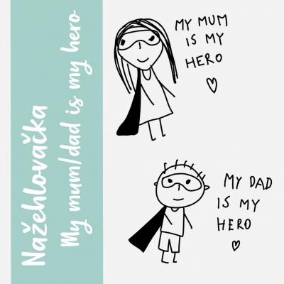 Nažehlovačky MY HERO 2ks
