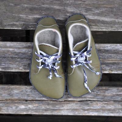 Zimné topánky Huňatá na mieru - prvochodci