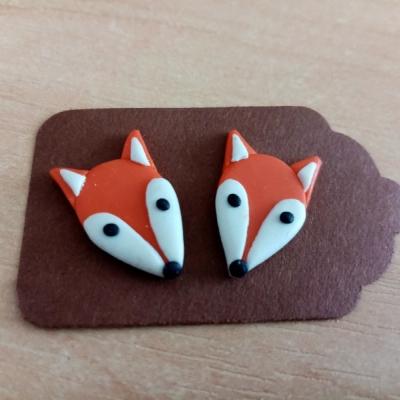 Líšky väčšie - náušnice