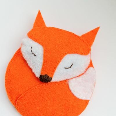 Liška ( levanduľové sashe )