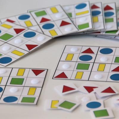 Sudoku - geometrické tvary /PDF formát
