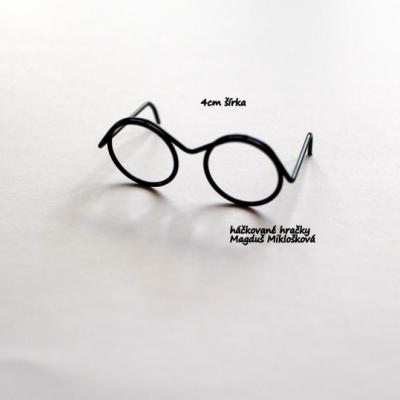 Mini okuliare pre Harryho 4cm