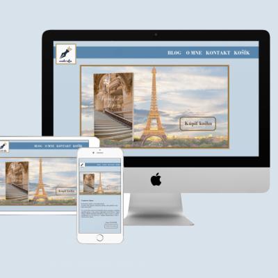 Spravím autorskú web stránku alebo e-shop na mieru