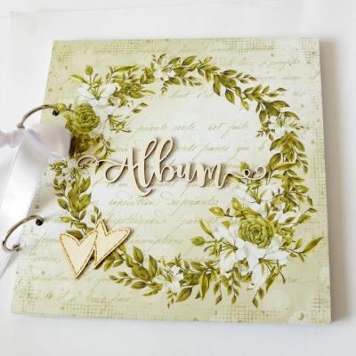 album na fotografie svadobný