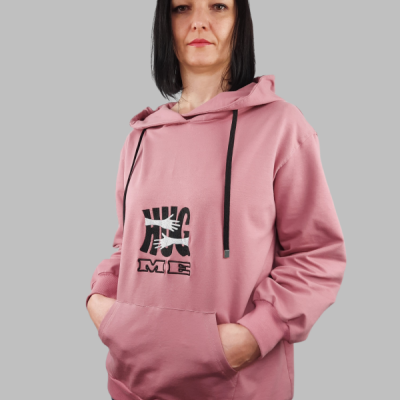 Dámska Oversize Mikina Huggs
