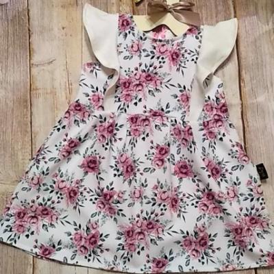 Letné šaty s volánikmi