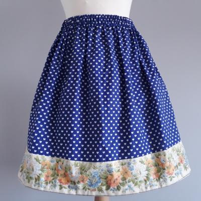 Srdiečkavá sukňa