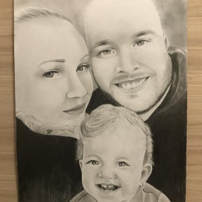 Rodinný portrét A3