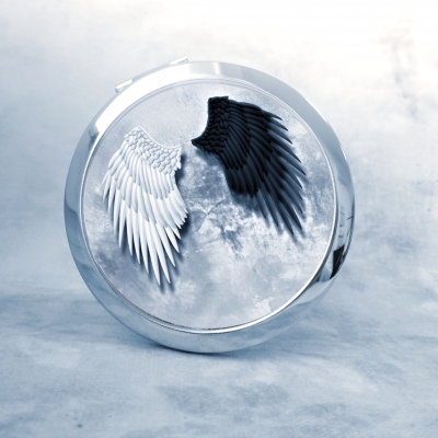 zrkadielko zrkadielko Anjelské krídla - text na želanie