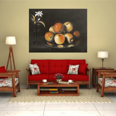 Barokové jabĺčka s pomarančovým kvetom
