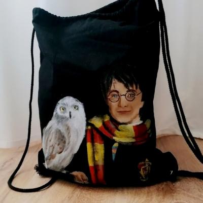 Maľovaný batoh Harry Potter