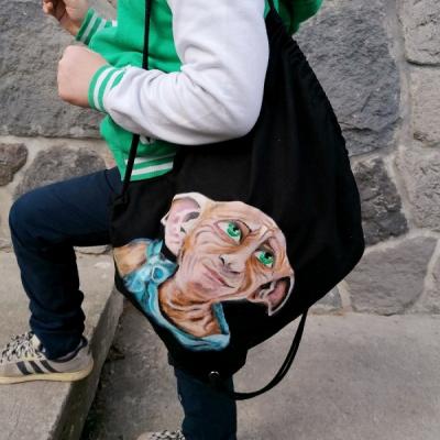 Maľovaný batoh Dobby
