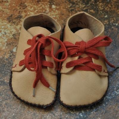 Bohošky NATUR - Barefoot členková topánka na mieru - prvochodci