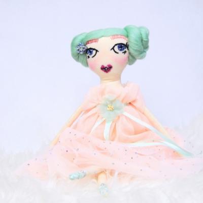 Látková bábika - baletka Nella 51 cm