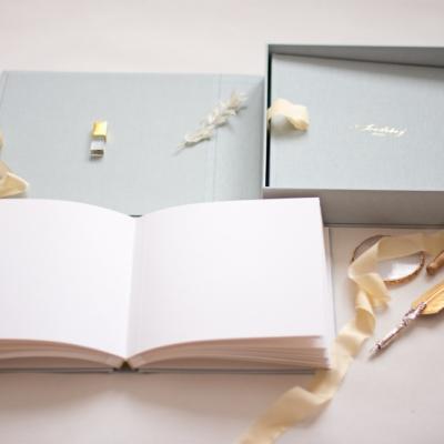 Svadobný fotoalbum v boxe