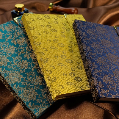 PANDA handmade zápisník FLOWERS