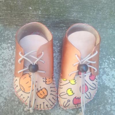 Bohošky Color - Barefoot členková topánka na mieru - prvochodci