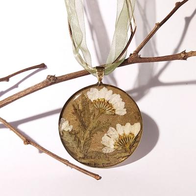 Náhrdelník_Bronzový medailón