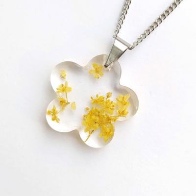 Prívesok_Bazový kvet