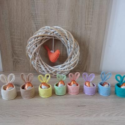 Košíky na vajíčka s uškami