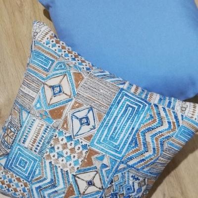 Obliečky na vankúšik- farebná mozaika 40 x 40 cm