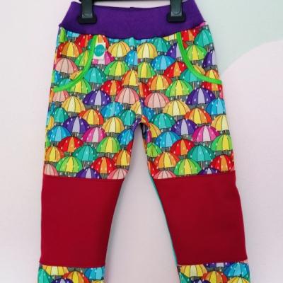 Softshellové nohavice DÁŽDNIKY