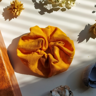 Gumička scrunchie Fire mini