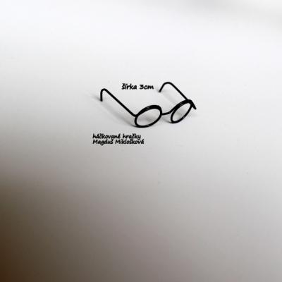 Okuliare pre Harryho 3cm
