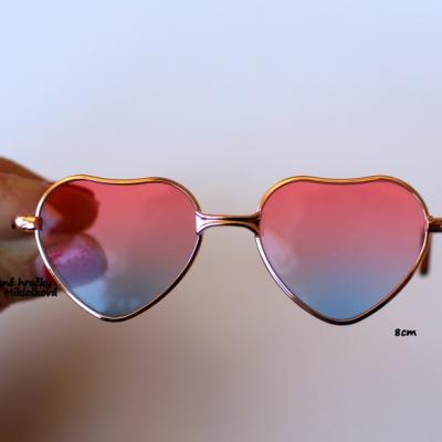 Srdiečkové okuliare 8cm