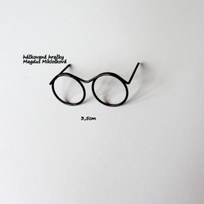 Mini okuliare 3,5cm (pre Harryho)