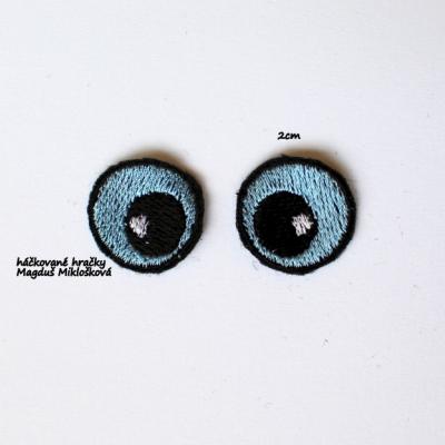 Vyšívané očká 2cm