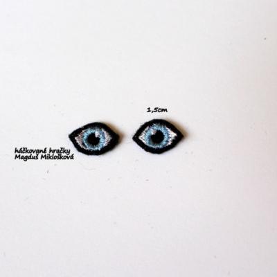 Vyšívané očká 1cm