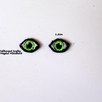 Vyšívané očká