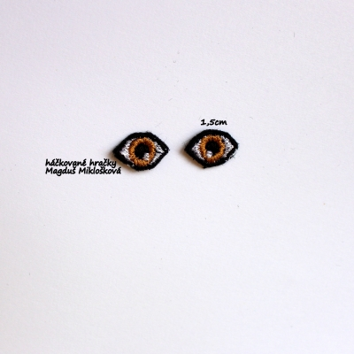 Vyšívané oči